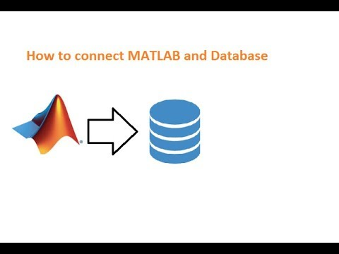 How to Use the Database Explorer App - MATLAB Tutorial - YouTube