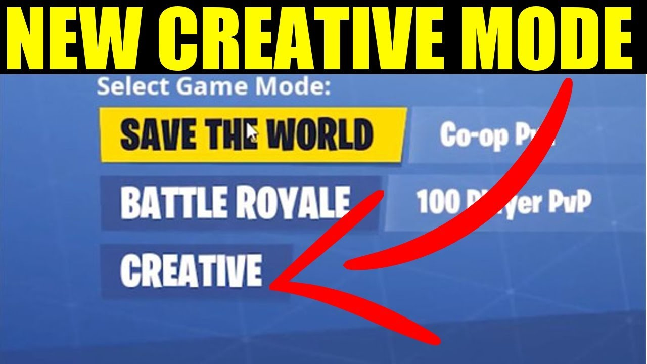 Fortnite Creative Mode How To Play Get Creative Mode In