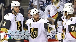 Golden Knights top Jets in Game 2 to even up WCF I NHL I NBC Sports