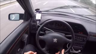 Peugeot 605 over 200km/h