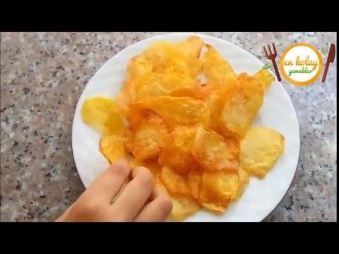 Ev Yapımı Patates Cipsi Tarifi - Nasıl Yapılır