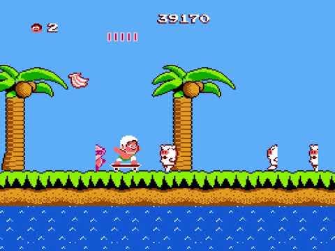 [TAS] NES Hudson's Adventure Island by ktwo in 35:45.55