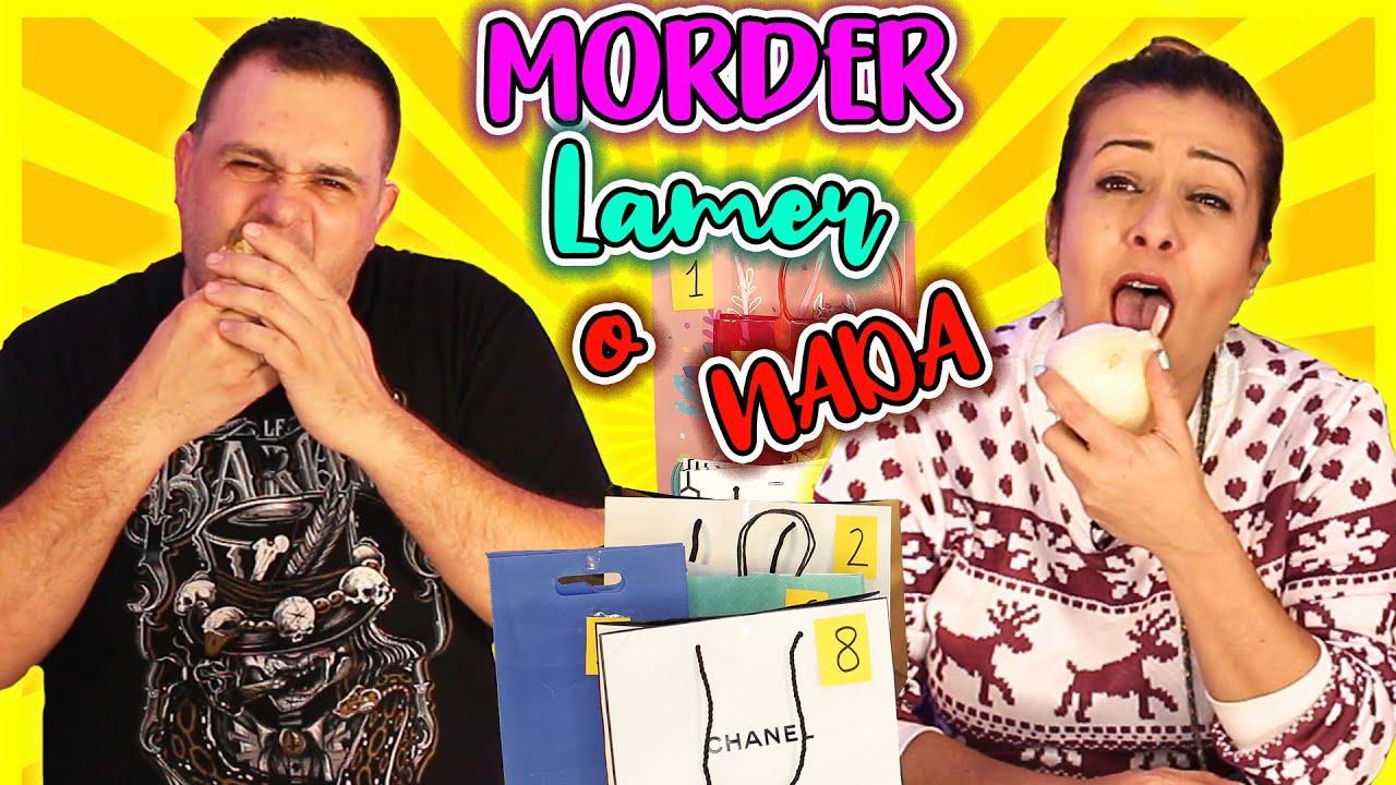 MORDER, LAMER o NADA !! Food Challenge ! Reto comida asquerosa ! TOMA YA