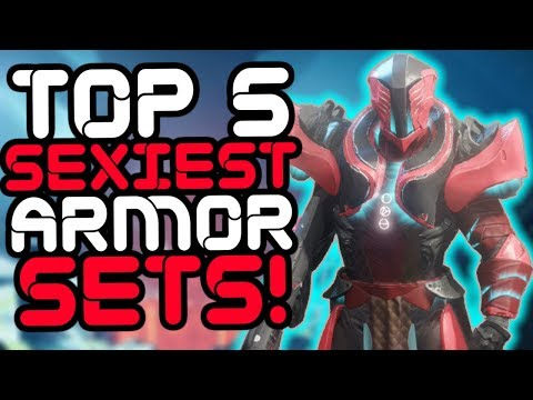 Destiny 2 - Top 5 SEXIEST Armor Sets in the Game!! thumbnail
