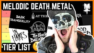 Melodic Death Metal Bands Ranked (Tier List)