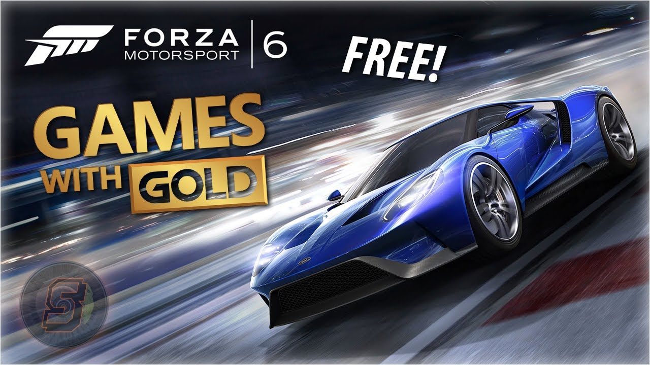 Forza Motorsport 6 Is Free Xbox Live Games With Gold August September 2019 Fm6 August 2019