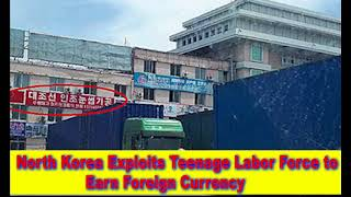 North Korea Exploits Teenage Labor Force to Earn Foreign Currency,Hk Reading Book,