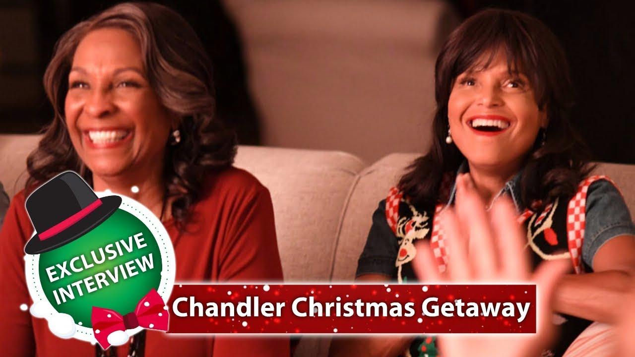 Hallmark Christmas Getaway Cast.Chandler Christmas Getaway Christmas 2018 Movie Deetta West Interview Hd
