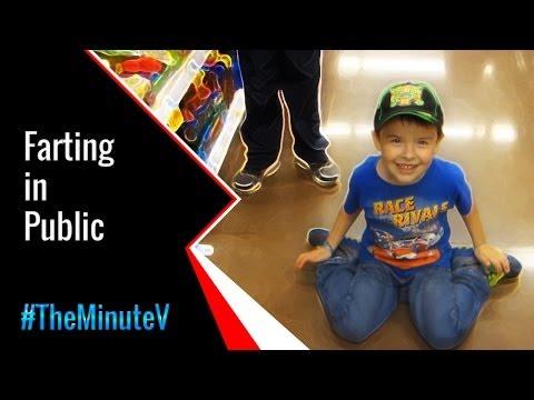 Kids Farting In PUBLIC | TheMinuteV