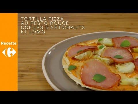réalisez-une-pizza-tortilla-facile-au-pesto-rosso