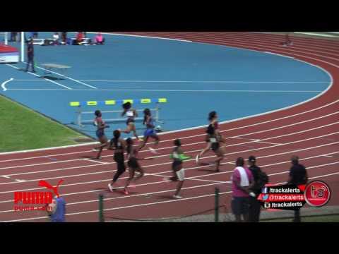 Prandini tops Women 100m #GuadeloupeMeeting
