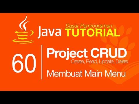 belajar-java-#60---project-crud-(part-1)---main-menu