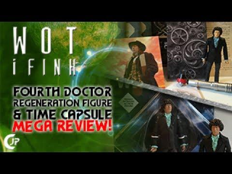 Wot i Fink : Fourth Doctor Regeneration Figure & Time Capsule MEGA REVIEW!