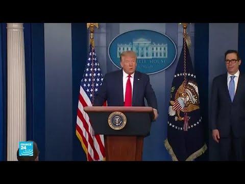 ترامب يطمئن الأمريكيين عن حالة اقتصاد بلاده رغم جائحة كورونا  - نشر قبل 16 ساعة