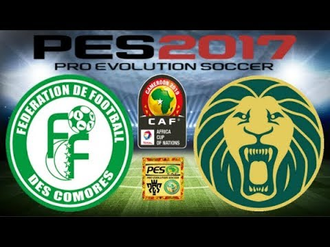 PS4 PES 2017 Gameplay Comoros vs Cameroun HD