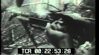 Vietnam War Operation Cedar Falls Newsreel Archival Footage - www.PublicDomainFootage.com