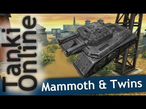 Tanki Online - Twins & Mammoth - Highland Battle
