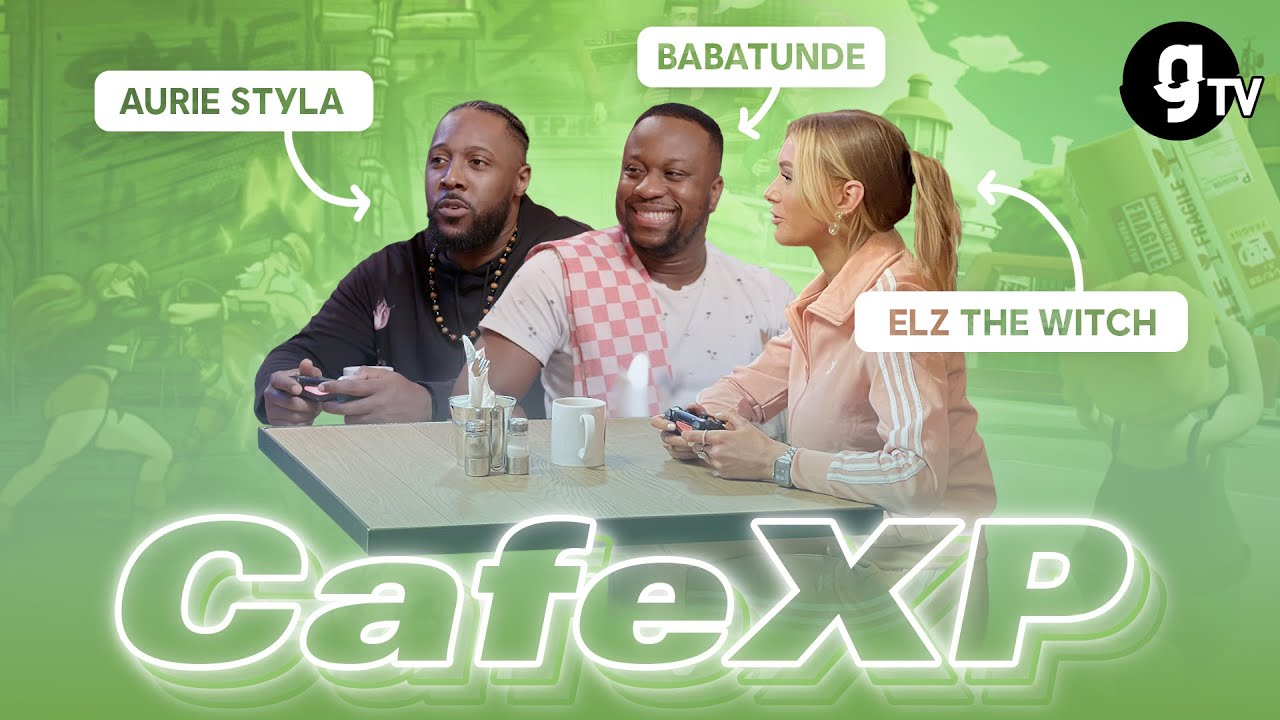 Babatunde Aleshe, Aurie Styla and Elz The Witch - CAFEXP - gTV