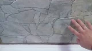 Презентация эксклюзивной силиконовой формы для изготовления гипсовой 3д плитки