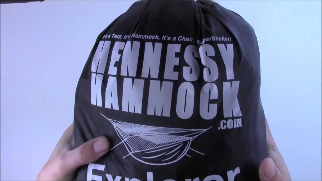 Hennessy Hammock Explorer Deluxe Zip Youtube