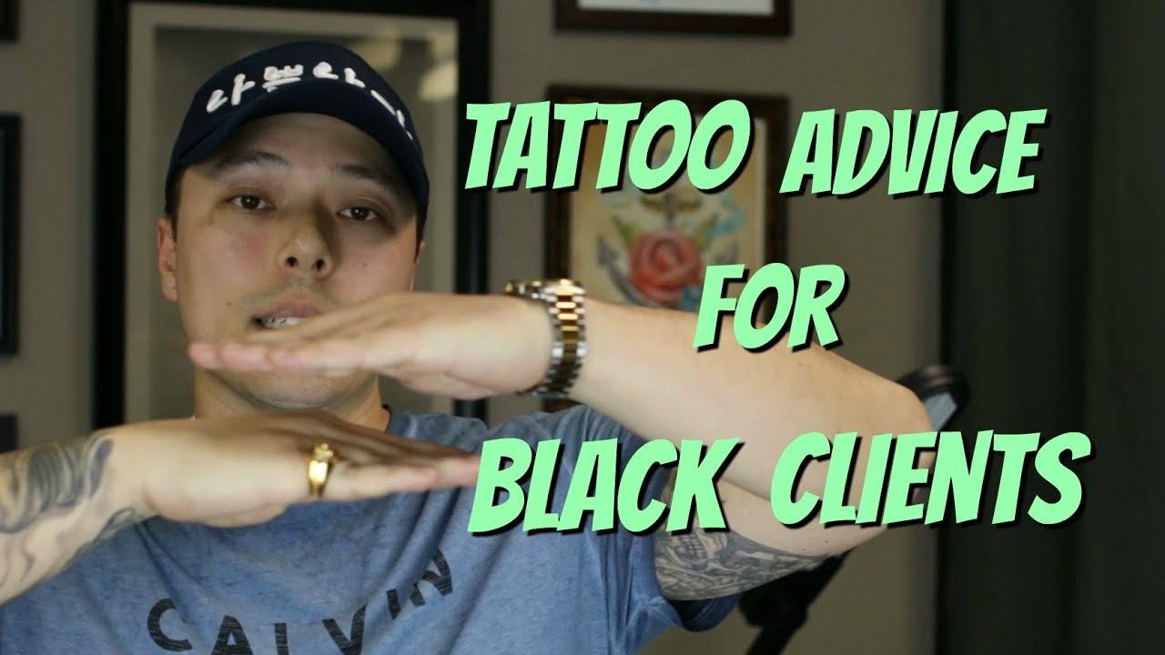 Dark Skin Color Tattoo: Tattoo Advice For People With Dark Skin