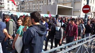 Manifestation contre la Loi Travail 2017 - Rennes - 21 Septembre 2017 - 01