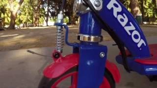 Razor Spider-Man Power Core E90 Ride Video