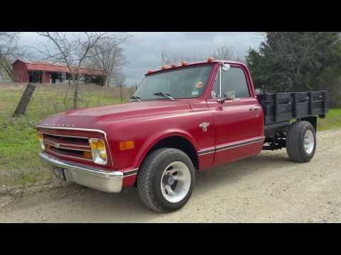 1968 Chevy C10 CST Texas backroad Texas truck