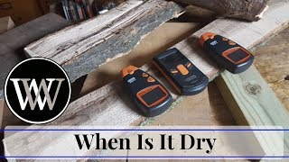 How to Tell When Your Lumber is Dry - Woodworking