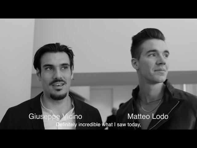 Emporio Armani FW 18-19 Men's Fashion Show - Front Row Interviews