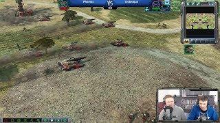 Phoenix vs Technique [Command & Conquer 3 - Kane