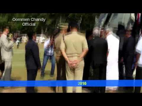 Vice President Hamid Ansari arrived at Pala St.Thomas College ground