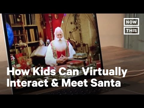 AI Santa Claus Offers Solution for Christmas During COVID-19   NowThis