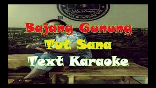 Gambar cover Tut Sana Feat Nia Prasetya Sari - Bajang Gunung - Karaoke Version