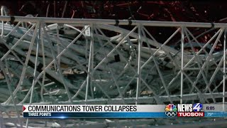 480 feet tower collapses near Three Points