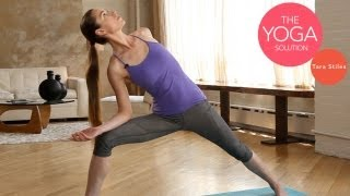 Routine for Perfect Posture | The Yoga Solution With Tara Stiles