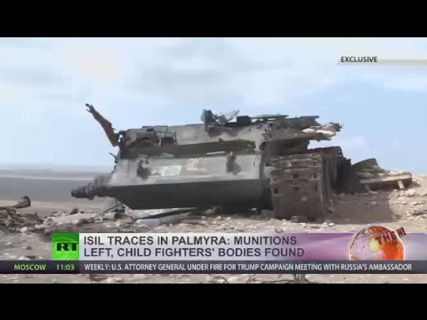 ISIS traces in Palmyra: Munitions left, child fighters' bodies found (EXCLUSIVE)