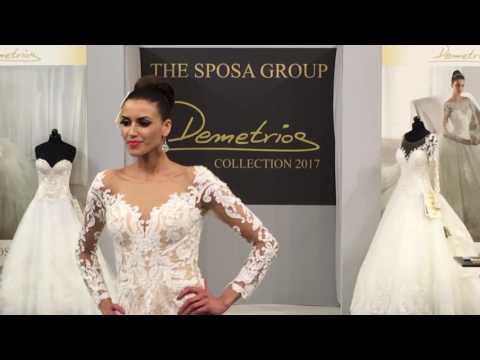 Salon du mariage Paris Bridal Fair - Demetrios -  Christiane boutique