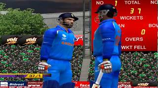 India vs South Africa - 10 Overs Match 3 Part 1 - EA CRICKET 18 PC Gameplay