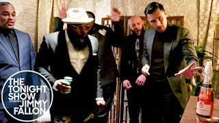 Dan White's Champagne Toast Freaks Out The Roots