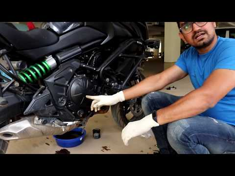 Bike Full Service - Engine Oil and Filter Replacement