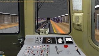 OpenBVE HD: Operating NYC Subway R46 Pre-GOH P-Wire F Train (Coney Island to Jamaica - 179th Street)
