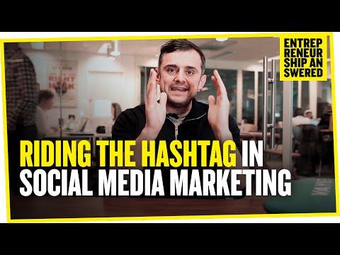 Riding the Hashtag in Social Media Marketing