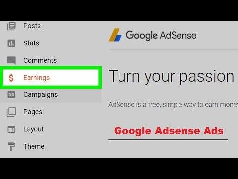 Google adsense sign up hindi video tutorial new youtube.