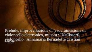 IMPROVVISAZIONE di 3 sovrincisione di violoncello Annamaria Bernadette Cristian - INsCissorS