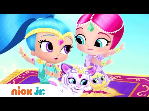Shimmer and Shine Italian | Official Theme Song (Music) | Nick Jr.
