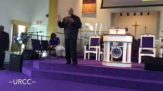 "Pastor Howard A. Daniel Sr. ""Get In Place, To Get God's Grace!"""