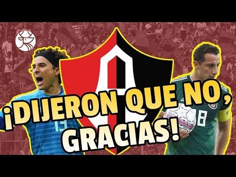 ¡SE LES FUERON! | Atlas buscó a Andrés Guardado y Guillermo Ochoa