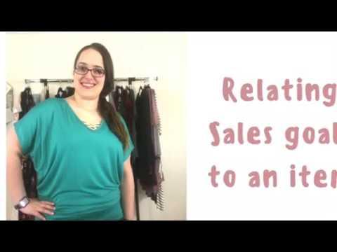 Amelia James-Setting Sales Goals