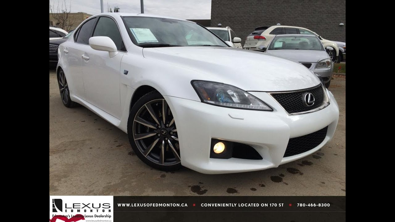 pre owned white 2008 lexus is f series 2 review. Black Bedroom Furniture Sets. Home Design Ideas